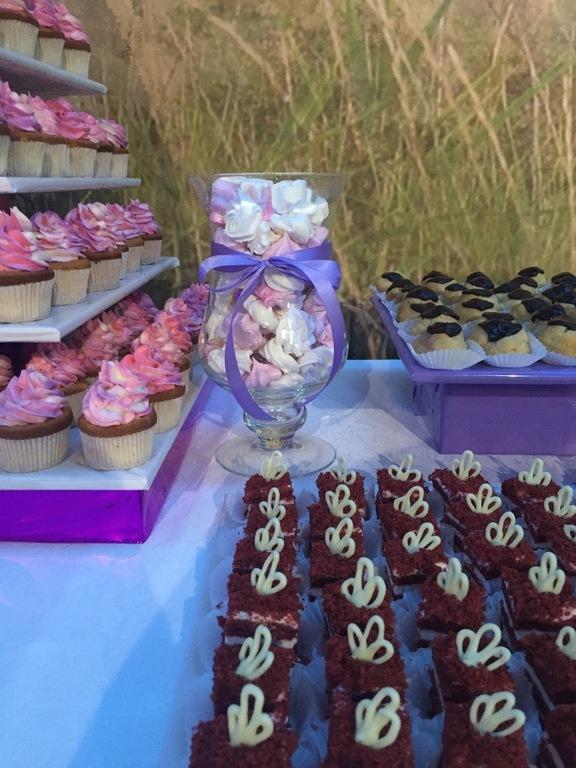 Неоновый торт фото 1